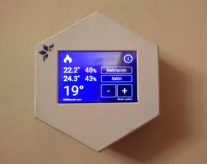 Open Bedroom Thermometer: Integration with the thermostat